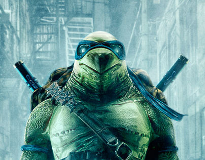 """Leonardo"" Tribute to Ninja Turtles"