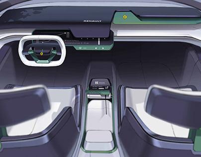 Renault Lungo - Intercity commuter concept