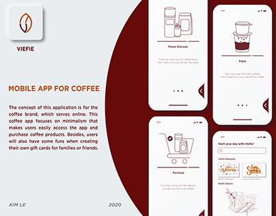 VieFie - Coffee App