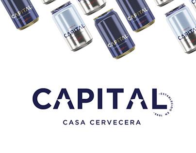 Cerveza CAPITAL   Branding