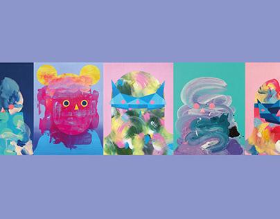 Selection of original paintings | 2019/20