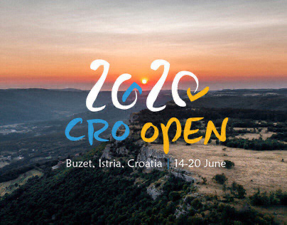 CRO OPEN 2020 | Visual Identity
