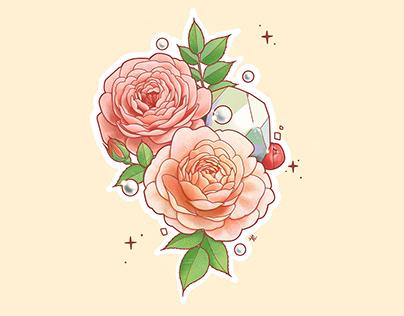 Birth Flowers and Gemstones
