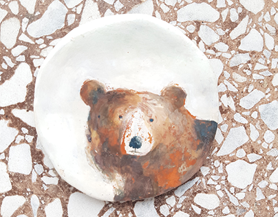 illustrated ceramic
