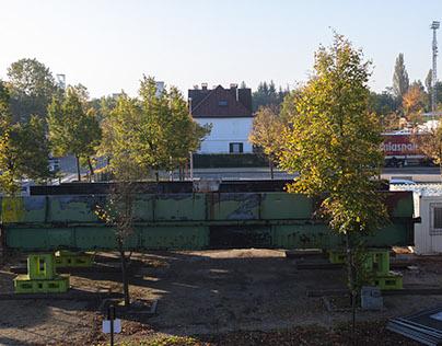 Restauratie brug koolmijnlaan Beringen-Mijn