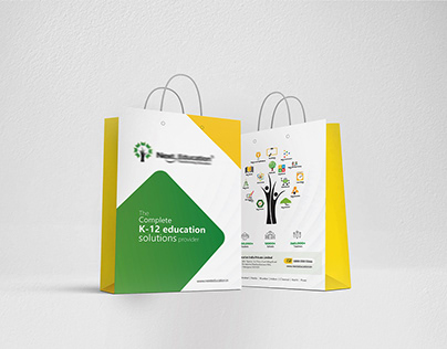 Next Education K- 12 education Paper bag Mochup