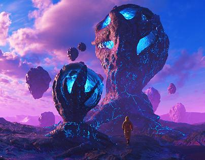 March 2021 Cinema 4D exploration