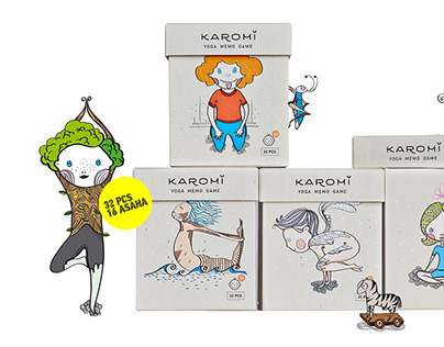 Karomi yoga memory game