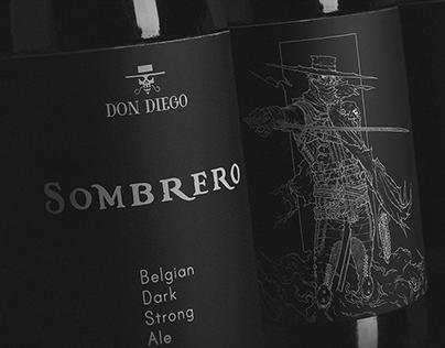 Sombrero - Don Diego Label