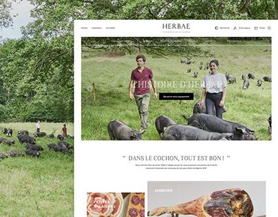 E-commerce • HERBAE