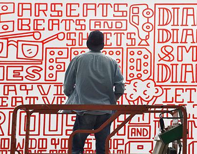 Target Tribeca Mural