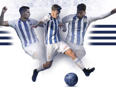 Collage futbolistas onubenses