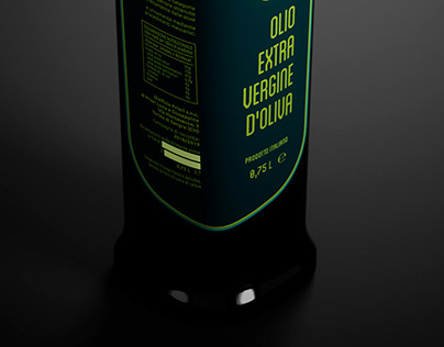 Label Redesign - Olio Priori