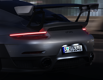 Porsche 911 GT2 RS Render
