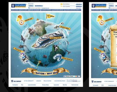 Royal Caribbean interactive site