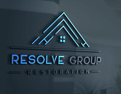 Resolve Group Logo Design