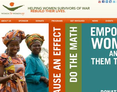 Women for Women International Fall Match Campaign