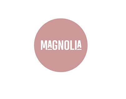 Magnolia Restaurant Branding and Menu