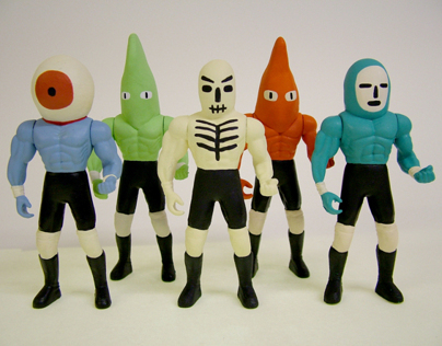 Fight! Action Figures