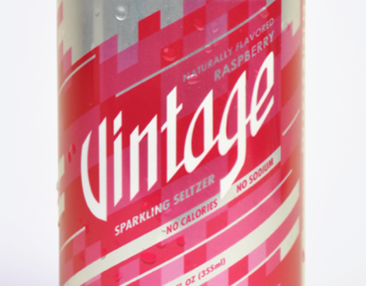 Redesign for Vintage Sparkling Seltzer Water