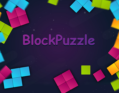 """Game UI Design """"BlockPuzzle"""""""