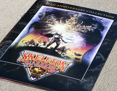 Skeleton Warriors Collector's Edition Toy Packaging