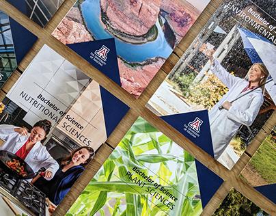 University of Arizona Recruitment Brochures