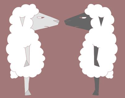 White Sheep Black Sheep