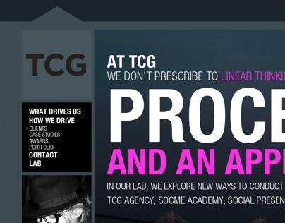 TCG Website Design
