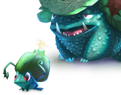 Bulbasaur evolutionary line