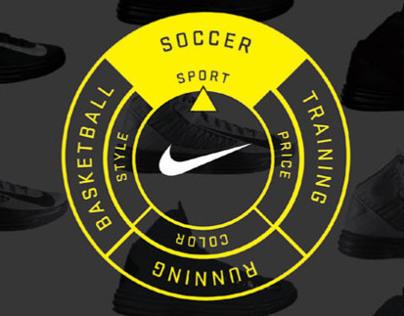 Nike Shoe App
