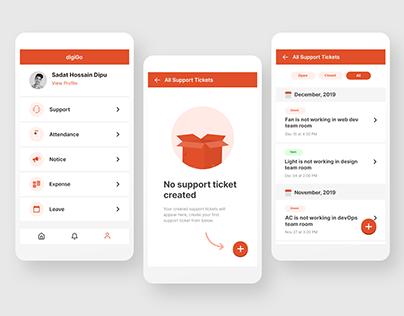 digiGO App Redesign