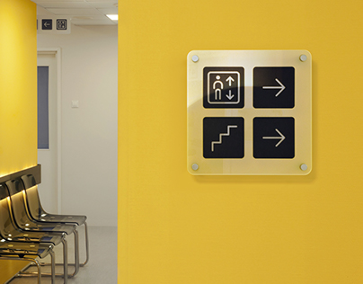 New Clinic wayfinding