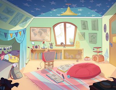 Aninha's Bedroom
