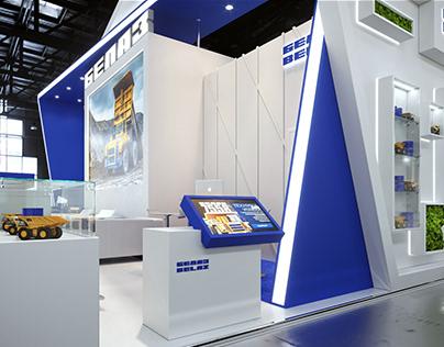 Exhibition stand design Belaz / 2019