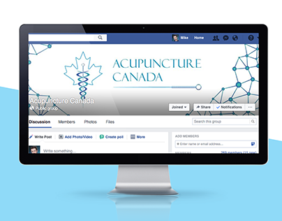 Acupuncture Canada Brand and Logo Design