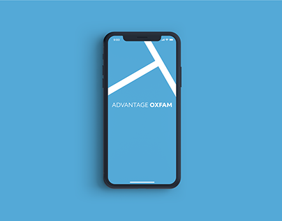Advantage Oxfam Mobile App Design