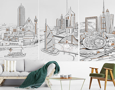Illustration Dubai