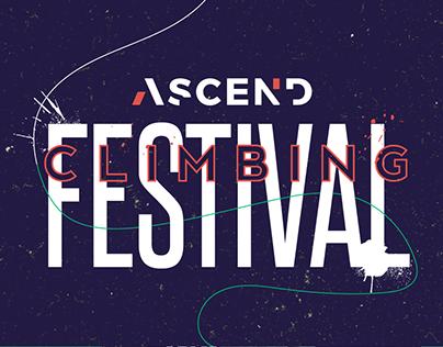 Climbing Festival Poster - 2018