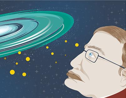 First Day Stamp Set: Hawking Radiation