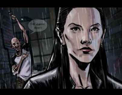 Lost Girl - Interactive Motion Comic