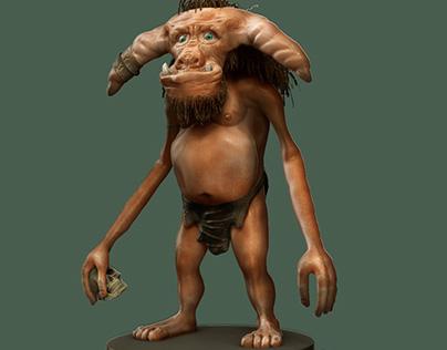 Troll modeling Zbrush