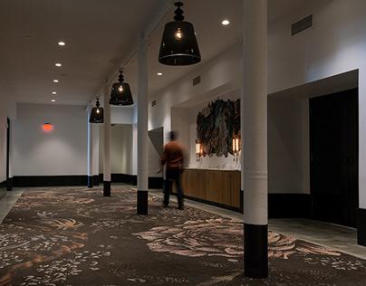 Aparium Crossroads Hotel Textile Illustration