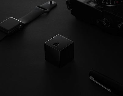 'Q' dock - black edition