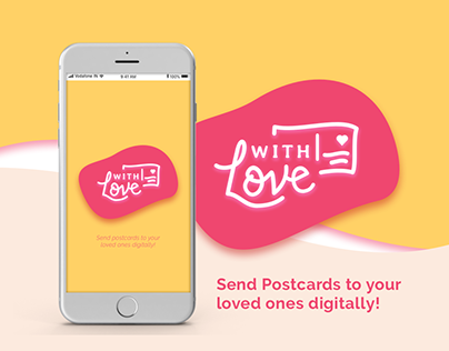 With Love : Send digital postcards to your loved ones!