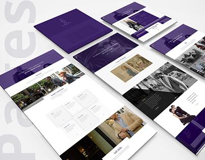 Website Design - The Velvet Walk