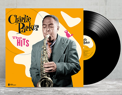 Art Cover Design. Charlie Parker The Hits.