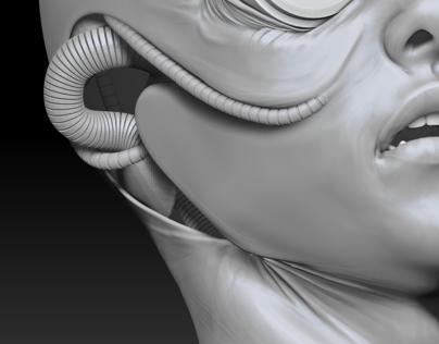 3D Cyborg (in progress)