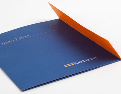 Kolum promotional folder