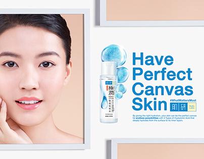 Perfect Canvas Campaign | Hada Labo